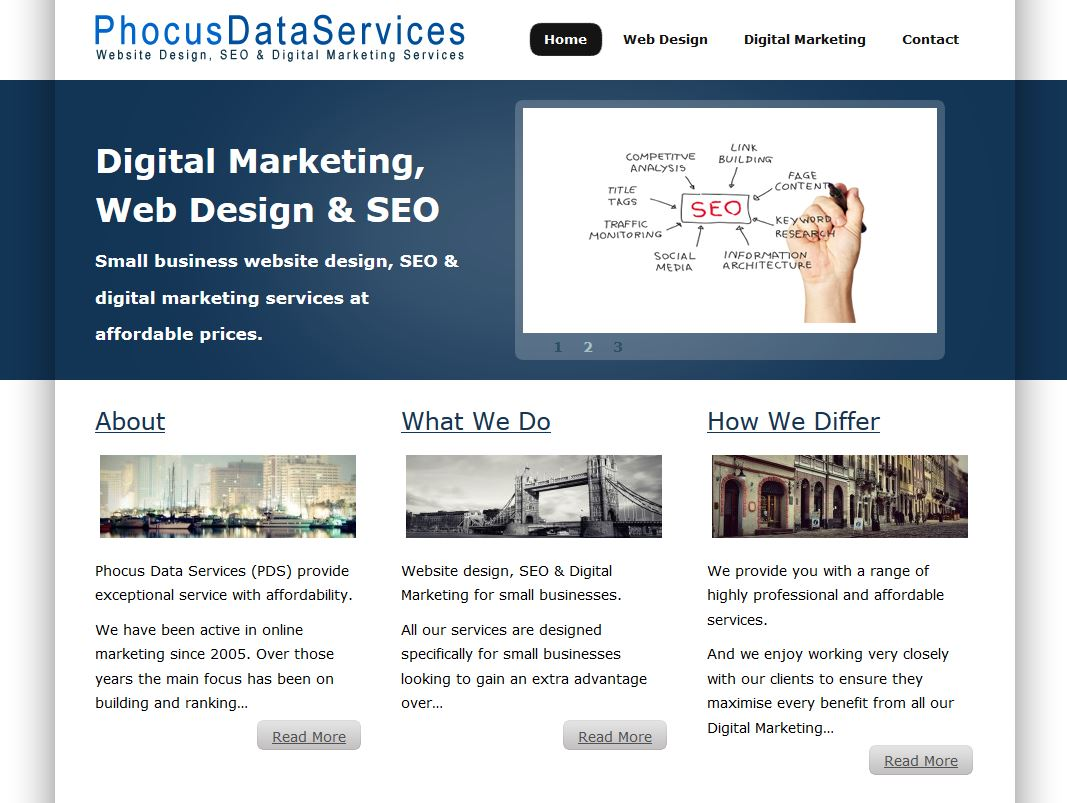 Phocus Data Services