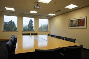 The Oriel Bath Road boardroom