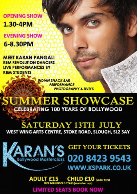 KARAN PANGALI'S SUMMER SHOWCASE 2013